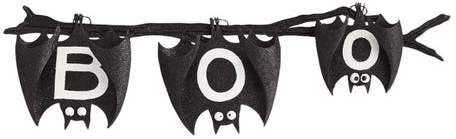 Do you ever feel a little batty this time of year? Then bring home our slightly spooky hanging bat decor, finished with a generous helping of glitter to keep it from being too scary