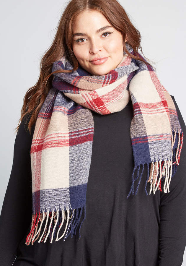 Modcloth Snuggly Satisfaction Scarf