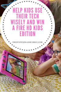 Help Kids Use Their Tech Wisely and WIN a FIRE HD kids Edition