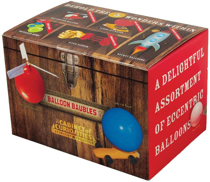Copernicus Balloon Baubles Cabinet of Curiosities is a fun science kit featuring 5 balloon toys