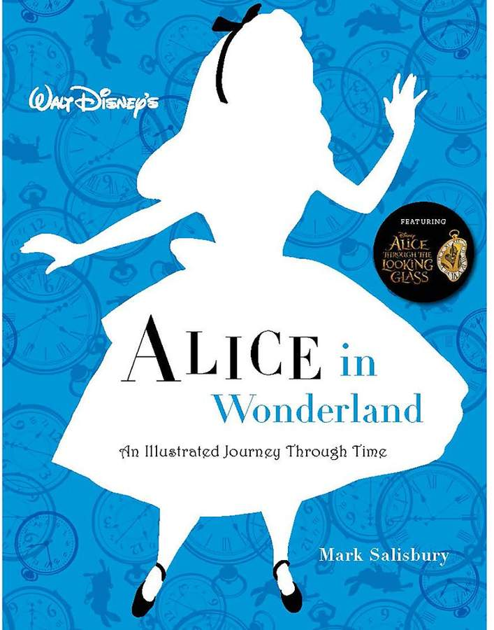 Disney Alice in Wonderland: The Illustrated Journey Through Time Book