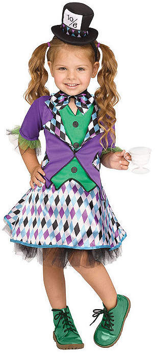 Is you daughter a big fan of Alice in Wonderland? Then this Mad Hatter Girl's Costume is the perfect outfit for her