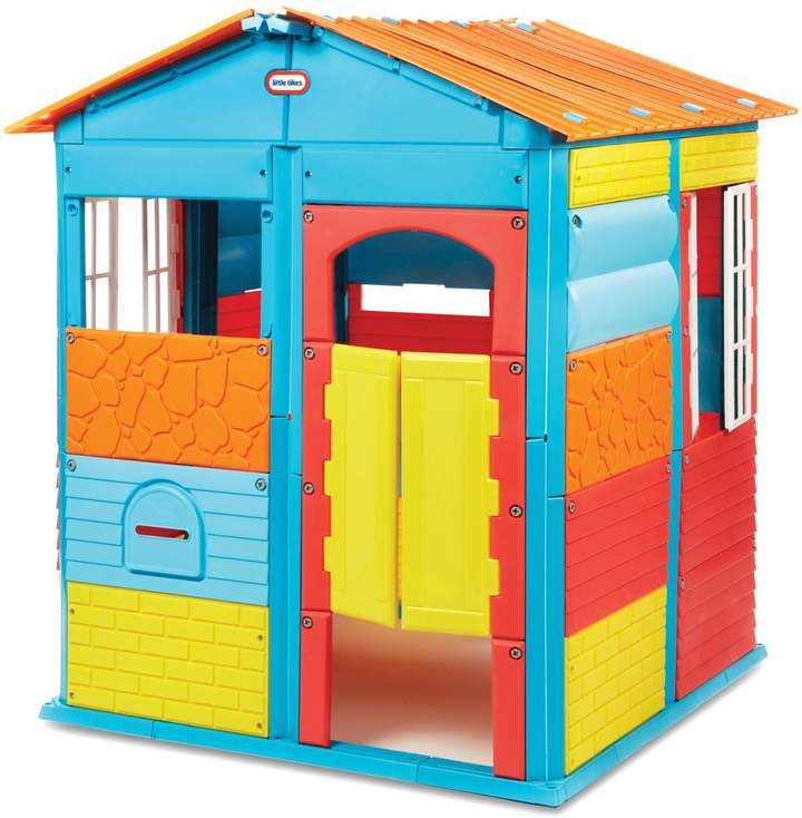 Empower your little one's creativity with the Little Tikes Build-a-House Playhouse. Equipped with interchangeable panels and easy-to-use tools, your child will be filled with joy building their ultimate playhouse with ease.