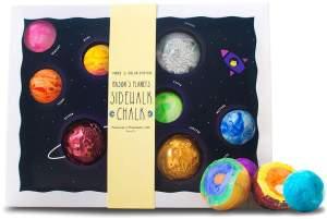 "TWEE ""Mason's Planets"" handmade sidewalk chalk set"