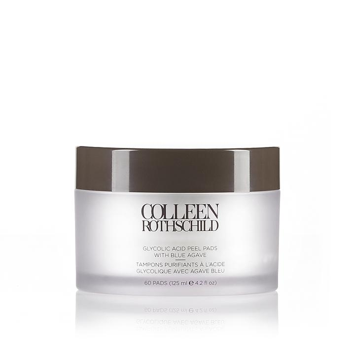 Glycolic Acid Peel Pads with Blue Agave