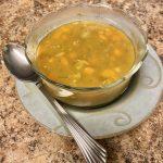 Dump and go style Instant Pot Split Pea Soup