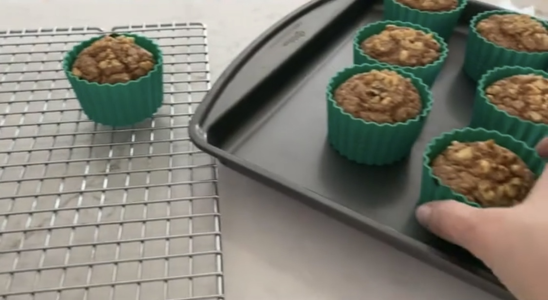 Hungry Girl's Banana Walnut Blender Muffins- Two points per Muffin on Weight Watchers Green