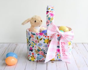 How to Sew a Fabric Easter Basket