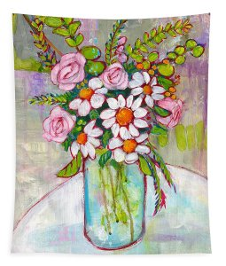 Go Wild with Flowers! You will never need to get Fresh flowers when you have this Tapestry on your Wall