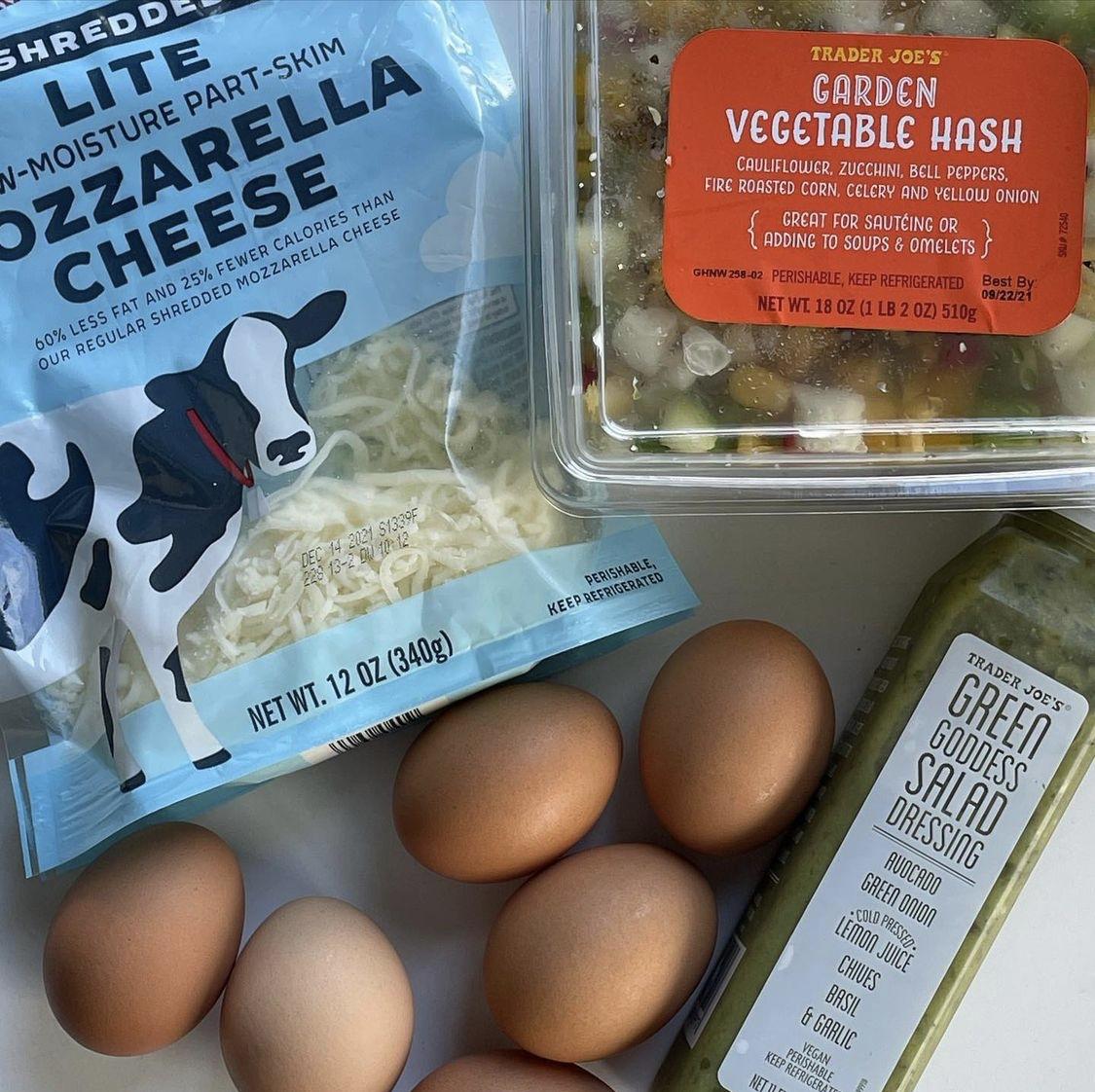 Green goddess veggie frittata -One point per serving on Weight Watchers Blue