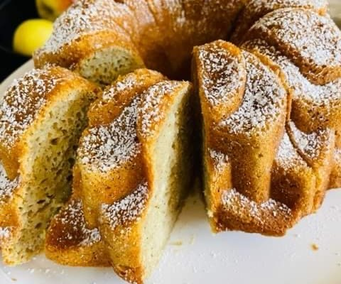 Ginger Spiced Orange Bundt Cake – Three points per serving on all Weight Watchers Plans