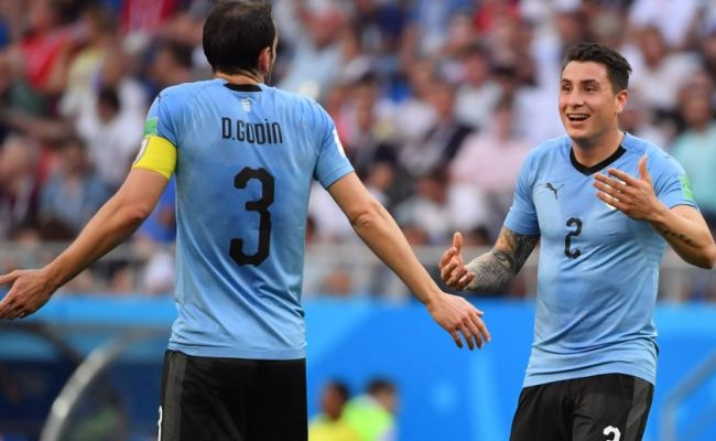 Uruguay S Gimenez Ruled Out Of World Cup Group Decider