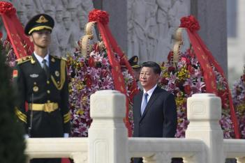 Image result for Xi on army parade september 2019