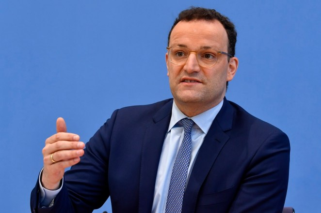 Again under control': Germany Health Minister Jens Spahn on Coronavirus  pandemic - The Statesman