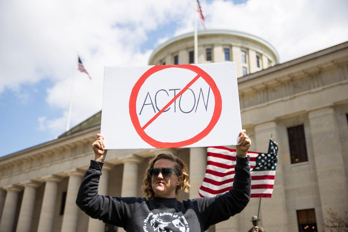 Protests Against Lockdown Ohio