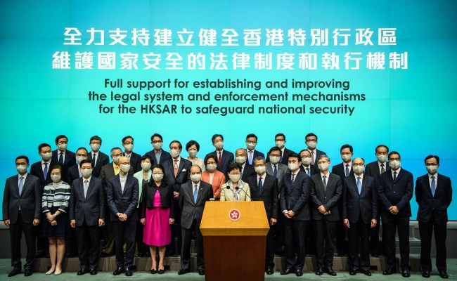 Hong Kong To Adopt National Security Law As Soon As