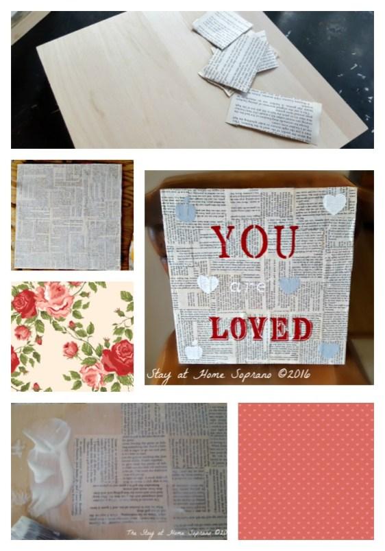 Teacher Gift DIY Collage
