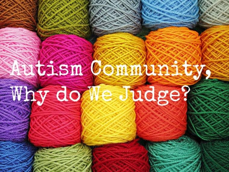 Autism Community title