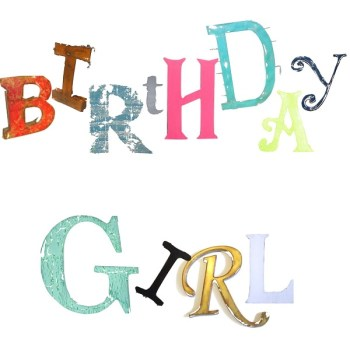 The Steel Rooms Birthday Girl Card