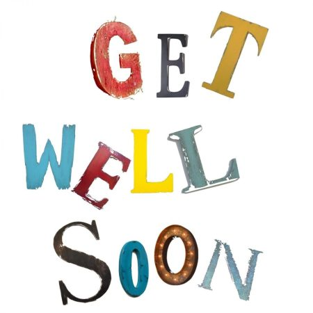 The Steel Rooms Get Well Soon Card