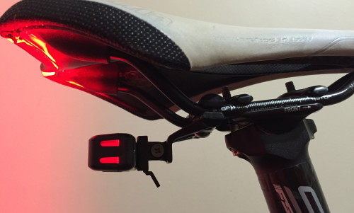 Review: Moon Comet rear light