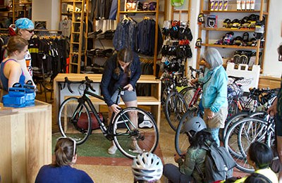 We shouldn't need women-focused bike shops