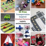 10 Free Transportation-Inspired Crochet Patterns