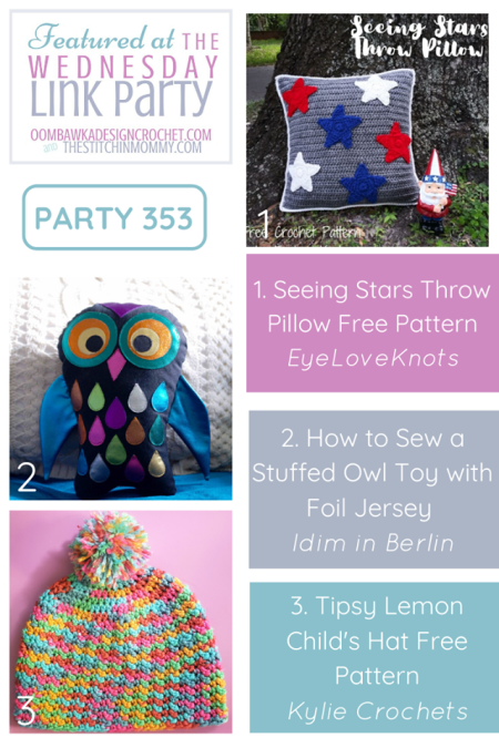 The Wednesday Link Party #353 | www.thestitchinmommy.com