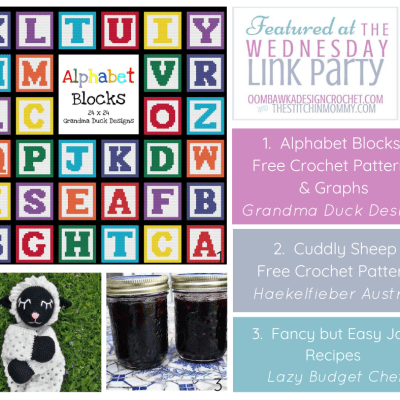 The Wednesday Link Party 359 featuring Alphabet Blocks