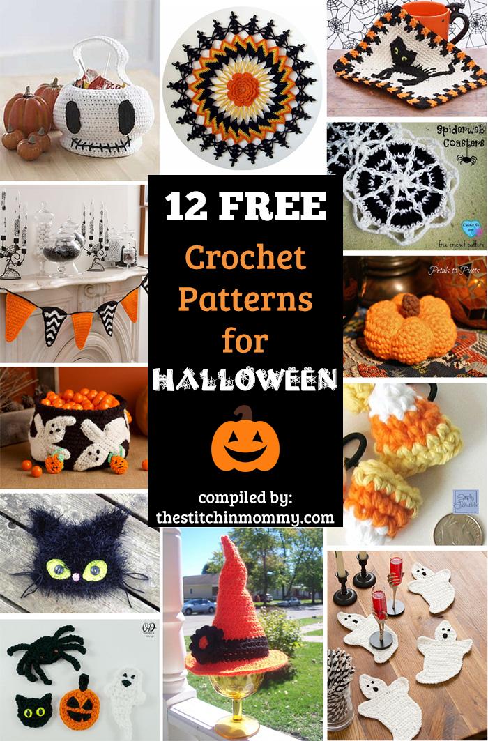 12 Free Halloween Themed Crochet Patterns The Stitchin Mommy
