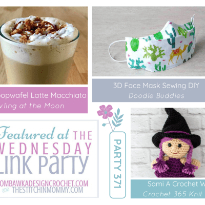 The Wednesday Link Party 371 featuring a Stroopwafel Latte Macchiato Recipe