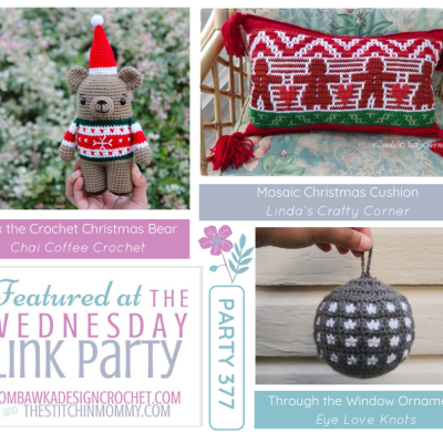 The Wednesday Link Party 377 featuring Bax the Christmas Bear