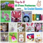 Hop To It! – 15 Free Patterns for Crochet Bunnies