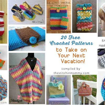 20 Free Crochet Patterns to Take on Your Next Vacation