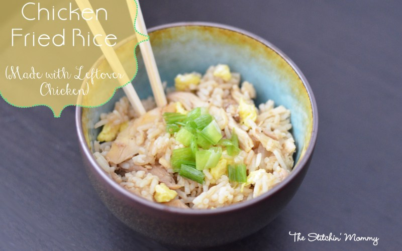 What To Do With Leftover Chicken – Chicken Fried Rice Recipe