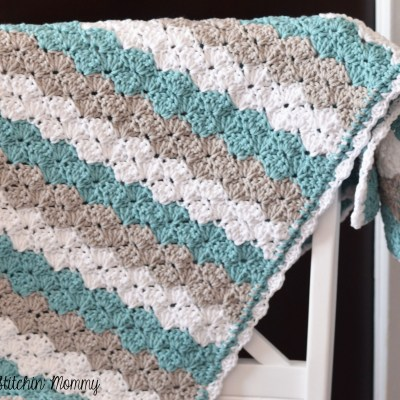 Shell Stitch Baby Blanket – Free Crochet Pattern