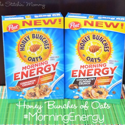 Honey Bunches of Oats #MorningEnergy – Start Your Day Off Right