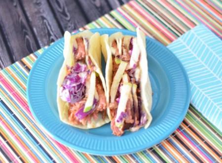 Pulled Pork Tacos with Apple Slaw #EasyPrepMeals #CollectiveBias