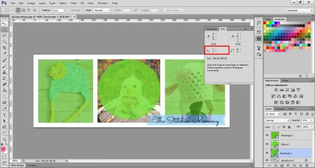 How to Map an Image with Photoshop - www.thestitchinmommy.com