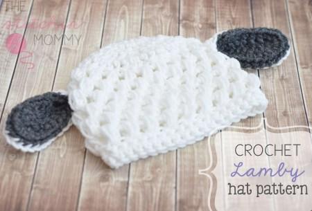 Crochet Lamby Hat