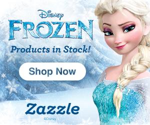 Disney Frozen Products Now at Zazzle.com!