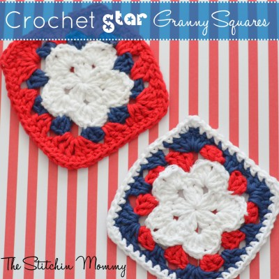 Crochet Star Granny Square