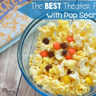 The Best Theater Popcorn with Pop Secret #PerfectPop