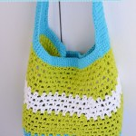 Summer Fun Market or Beach Tote – Free Crochet Pattern