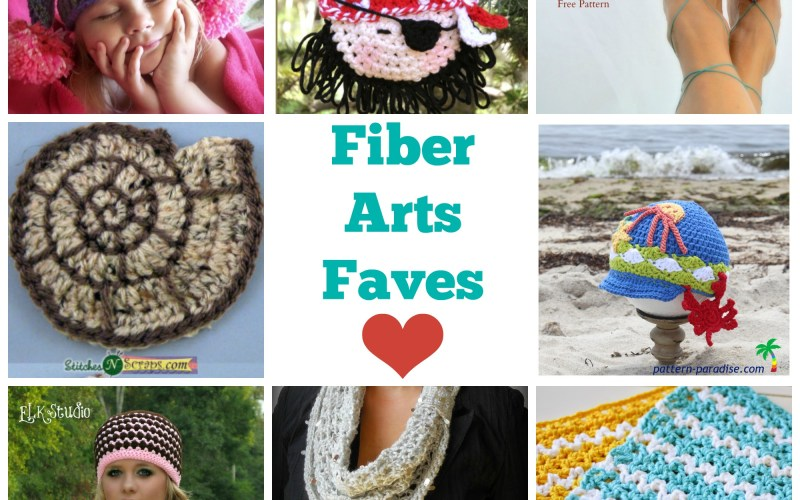 Friday Faves in Food and Fiber Arts {6}