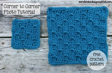 Corner to Corner Shell Stitch