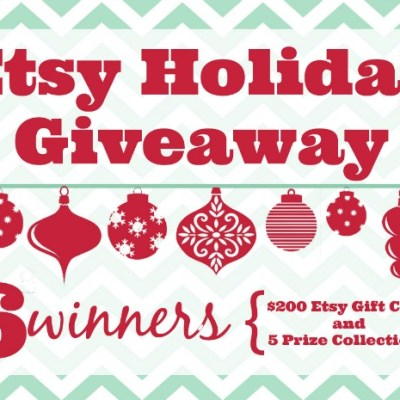 Etsy Holiday Giveaway and Gift Guide!