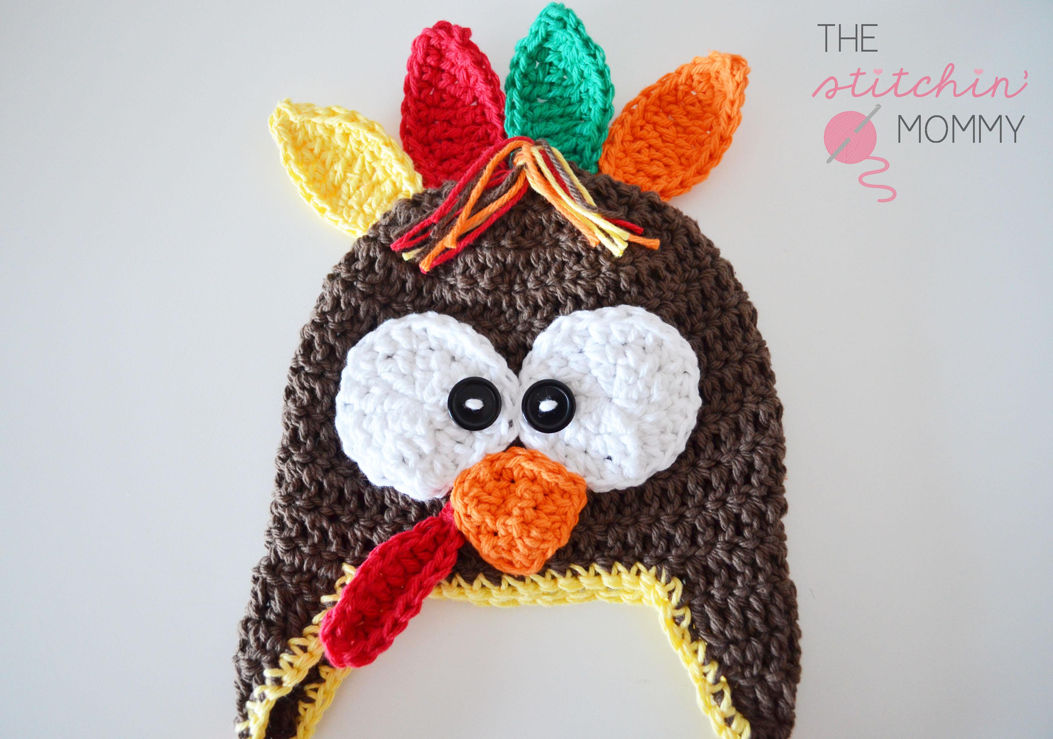 Crochet turkey hat free pattern the stitchin mommy crochet turkey hat free pattern thestitchinmommy bankloansurffo Gallery