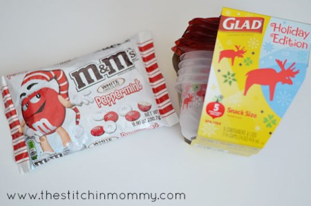Celebrate the Holidays with Glad and M&M'S www.thestitchinmommy.com