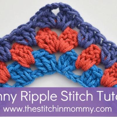 Granny Ripple Stitch Tutorial